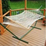 cheap rope hammock with stand set