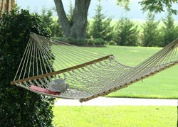 Pawleys Island hammocks large rope hammock review