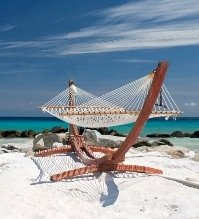 beach hammock with stand