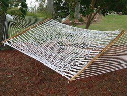 Pawleys Island hammocks polyester rope hammock review